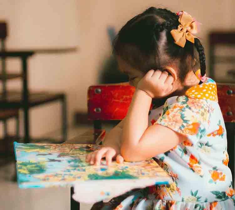 Dạy trẻ tập trung